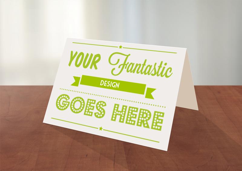 Photoshop Greeting Card Mockup