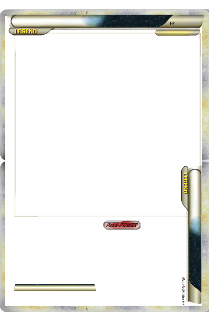 Pokemon Trading Card Template