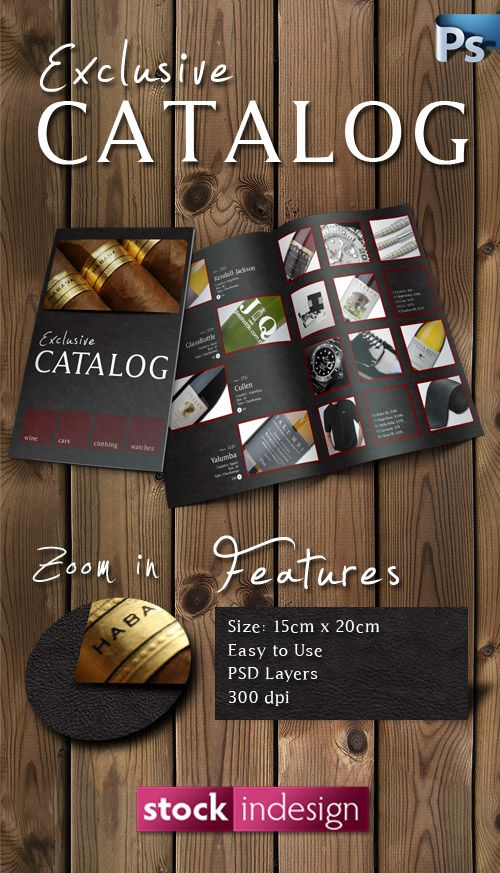 PSD Product Catalog Template