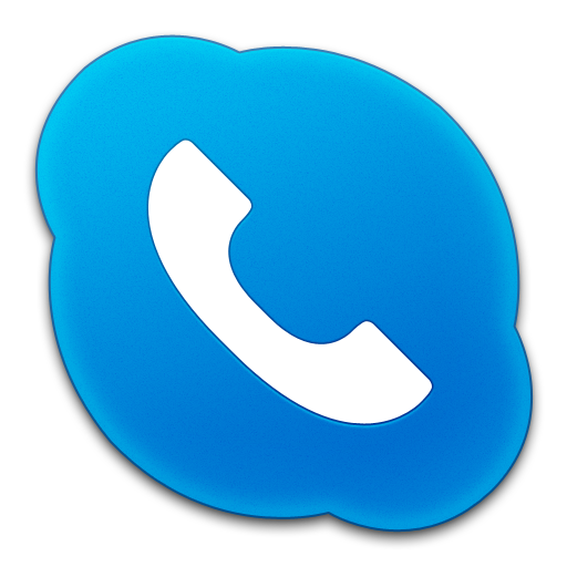 Purple Phone App Icon