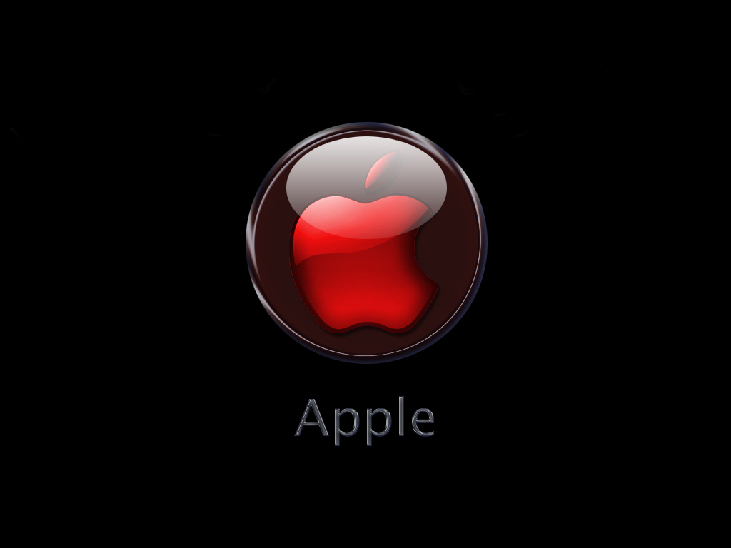 Red Windows Wallpaper Apple Logo