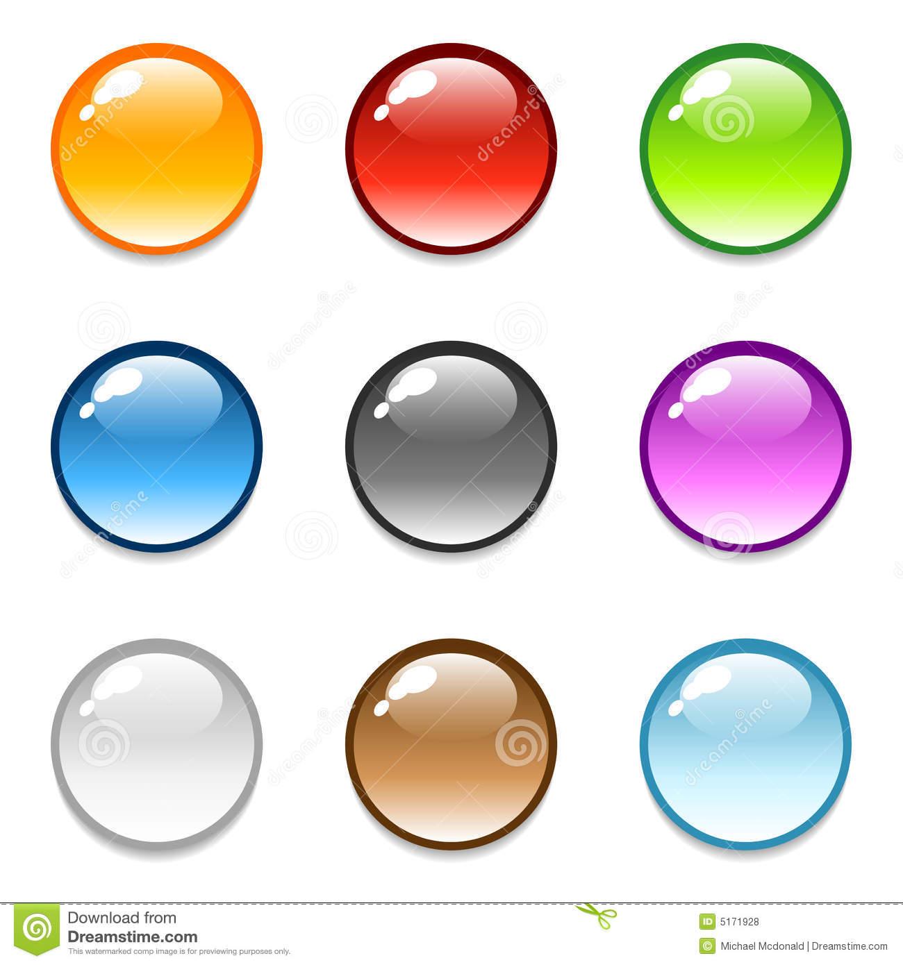 Round Button Icon