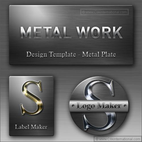 Silver Metal Text Photoshop