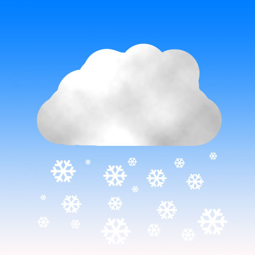 Snow Symbol Weather Forecast