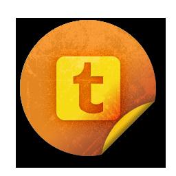9 tumblr circle icon images tumblr logo icon search