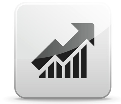 8 Stock Market Graph Icon Images