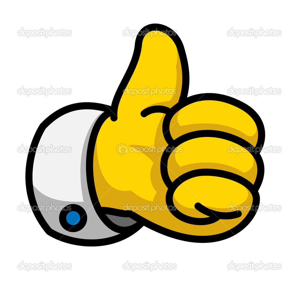 9 Thumbs Up Icon Vector Images