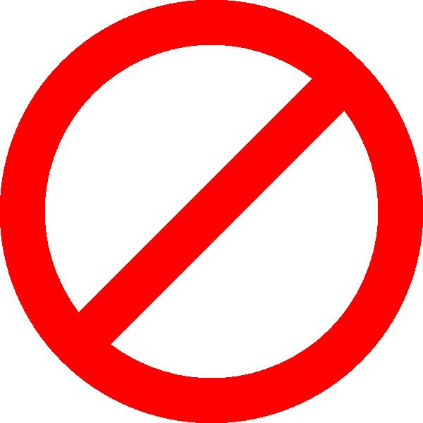 8 No Circle Icon Images
