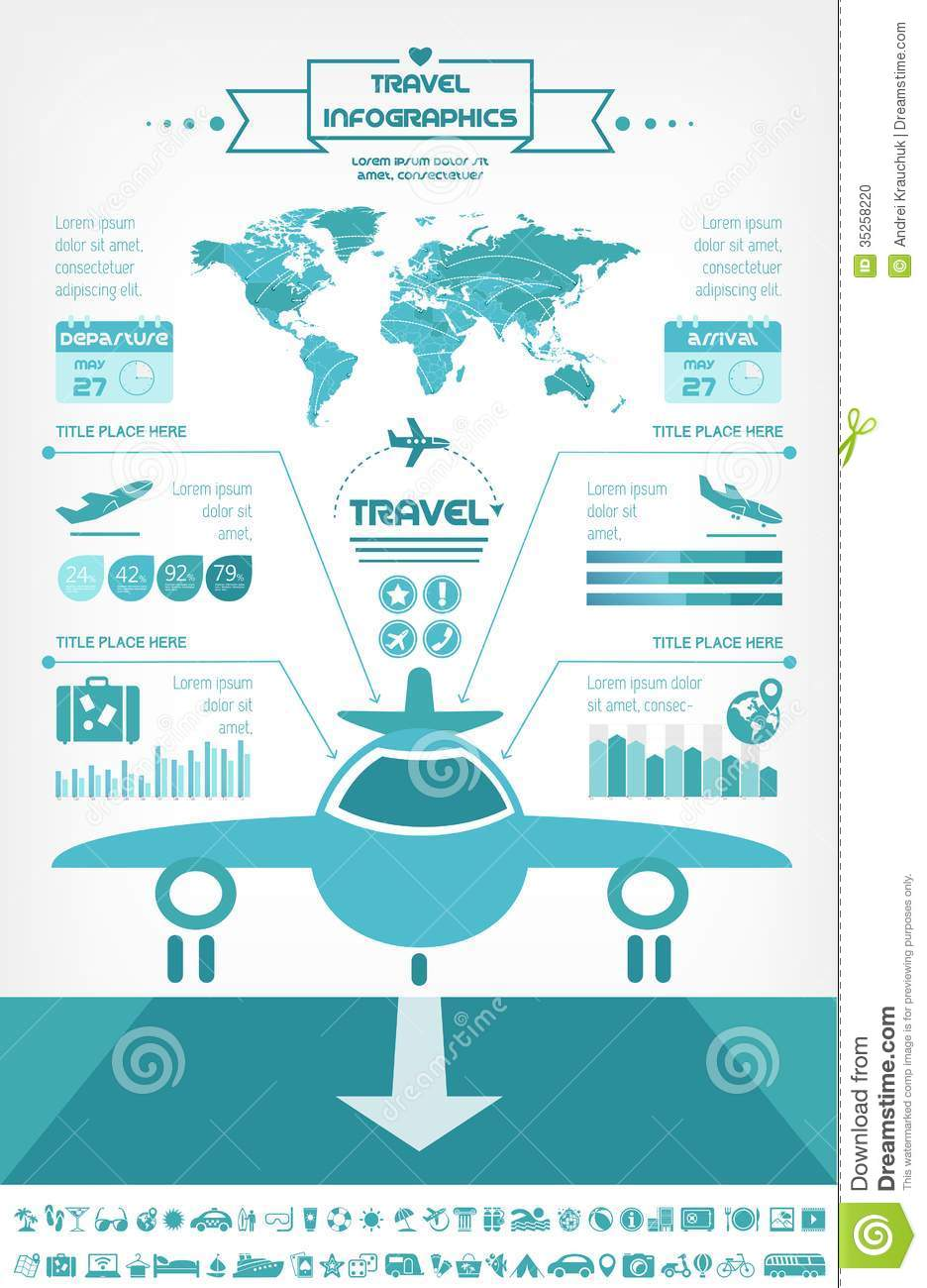 Travel Infographics Template