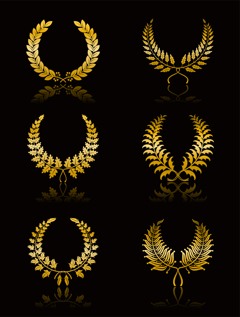 15 wheat crown vector png images wheat leaf vector crown for Laurel leaf crown template