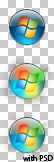 Windows 7 Start Icon Transparent