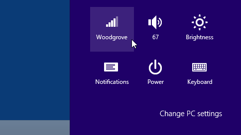 how to get to wifi network settings windows 8