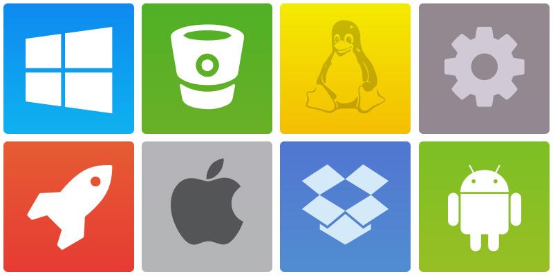 17 Application Icons Images - Application Folder Icon, Web ... Ubuntu Font Android