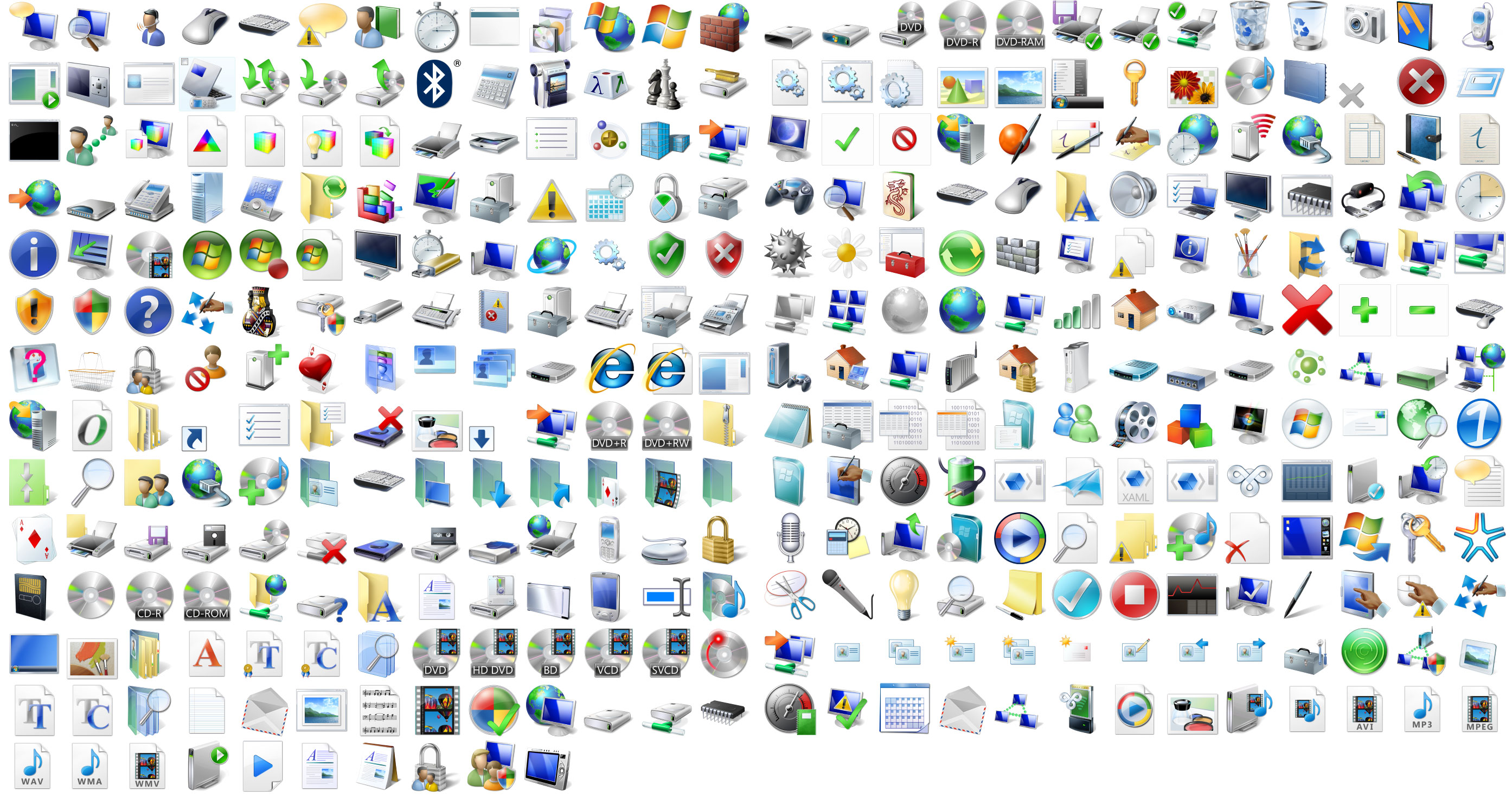 18 Free Computer Icons For Vista Images