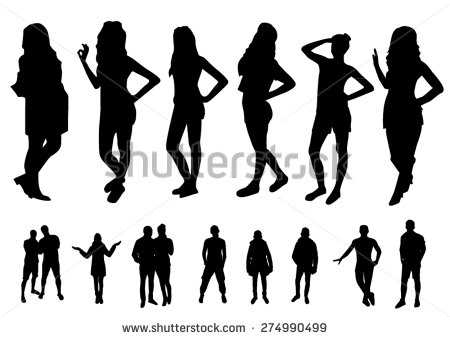 Woman Silhouette Designs