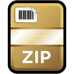 12 Compressed Zipped Folder Icon Images