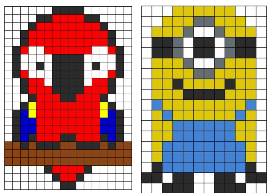 12 Pixel Art Graphics Images Minecraft Pixel Art Templates