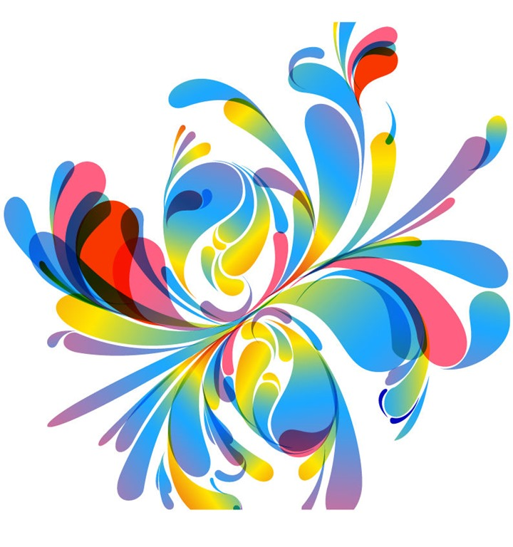 16 Colorful Abstract Vector Designs Images