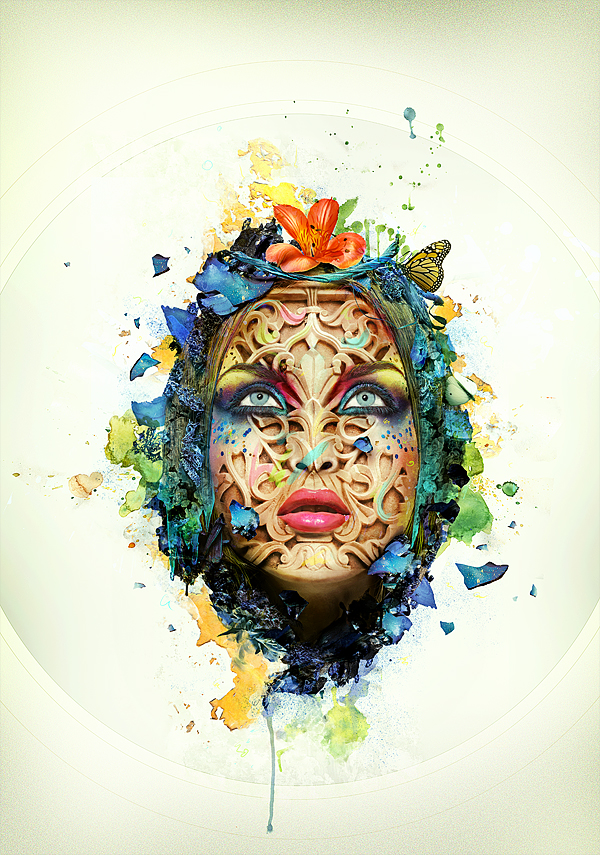 Abstract Portrait Photoshop Tutorial