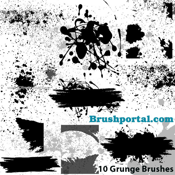 Adobe Photoshop Brushes File Contains