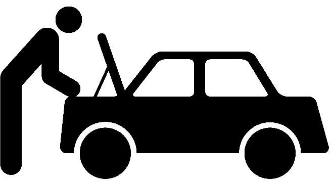 Auto Repair Icons Black