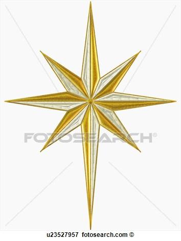 8 Star Of Bethlehem Vector Art Images - Bethlehem Star Clip Art ...