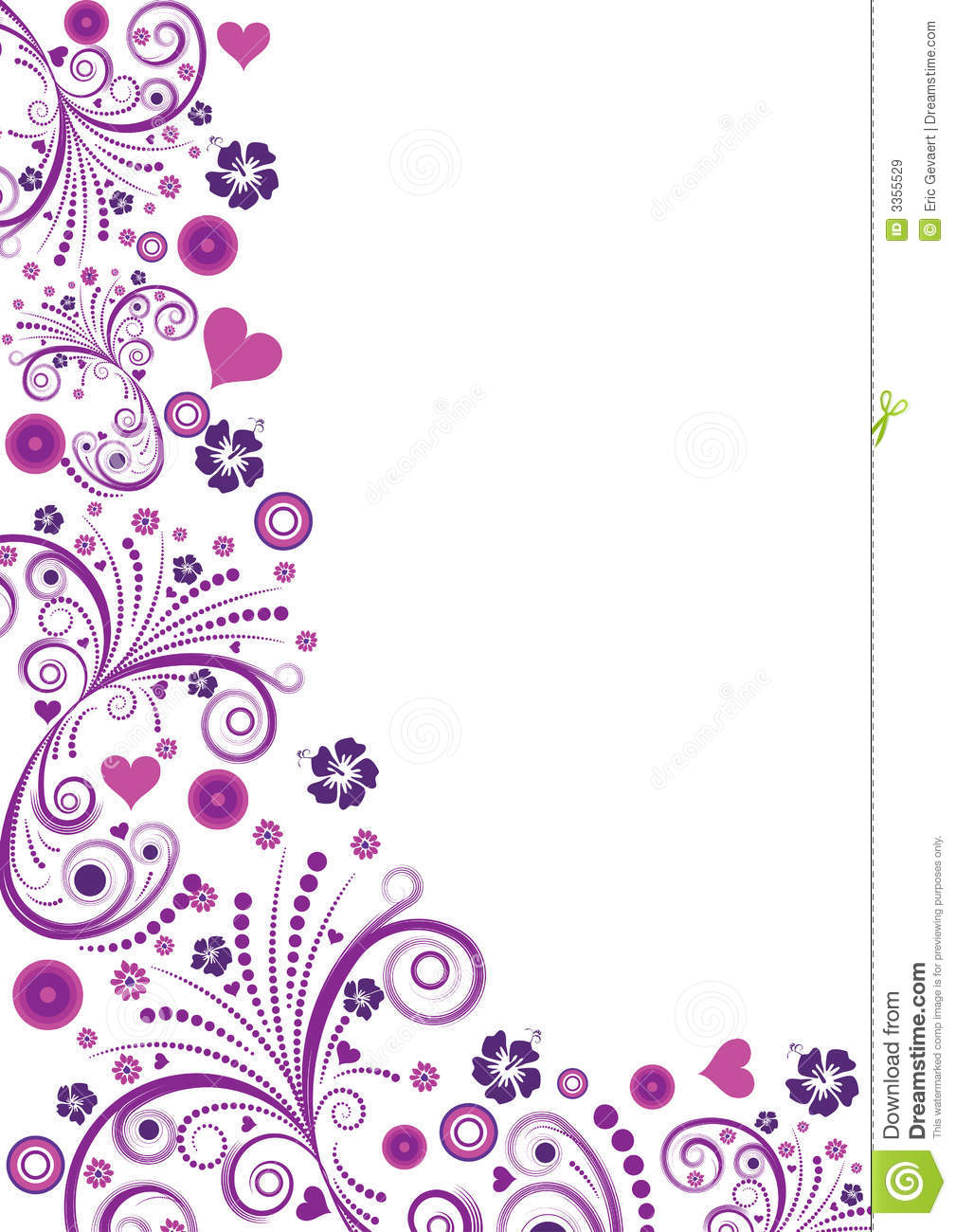 20 Floral Border Vector Images Free Floral Vector