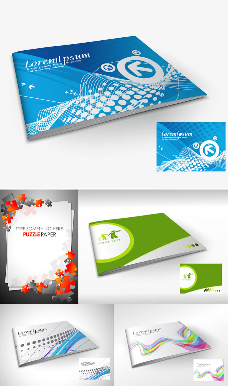 Brochure Cover Templates