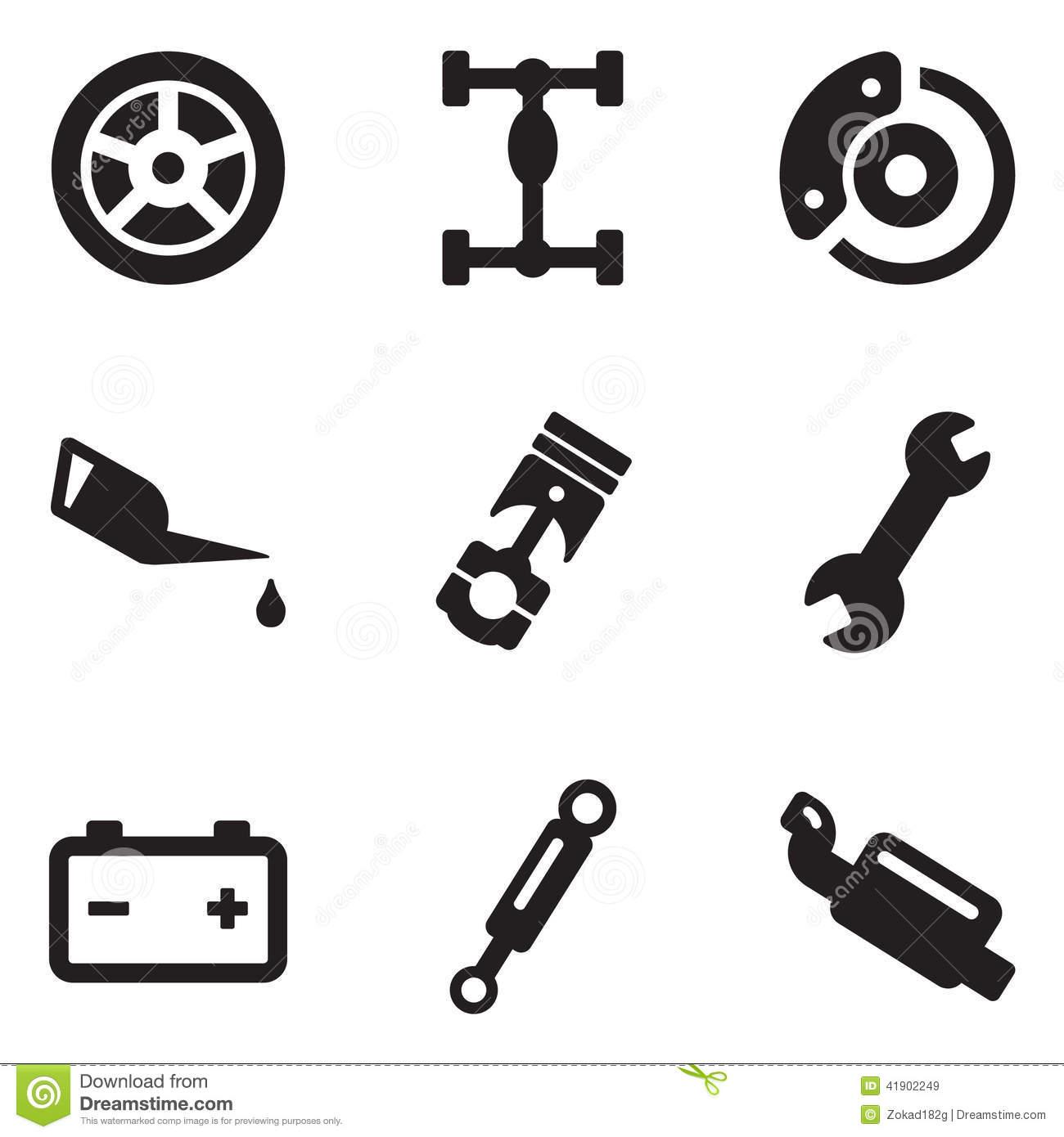 Car Mechanic Vector Icon