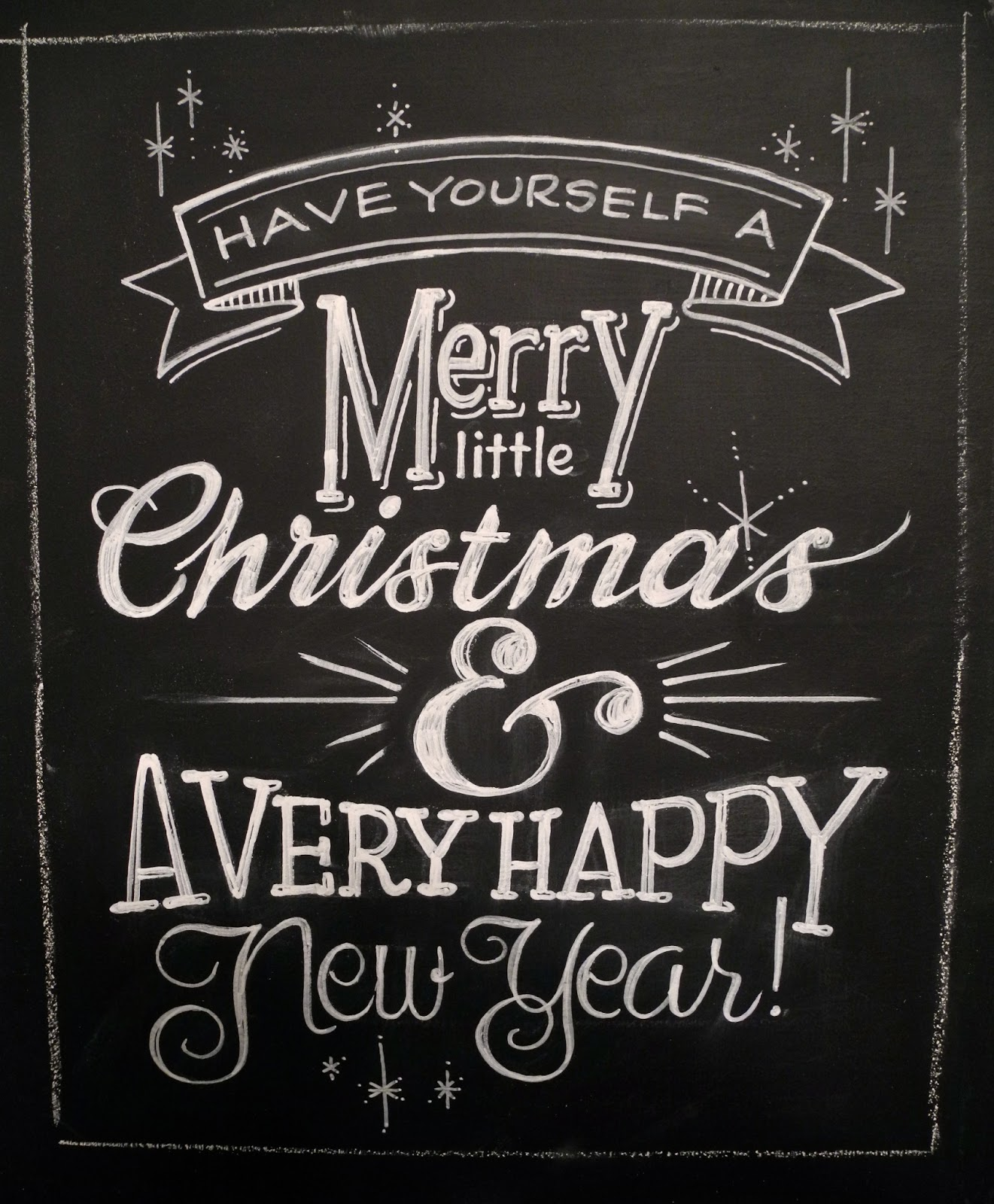 After Hour Stock Quotes: 16 Chalkboard Christmas Font Images
