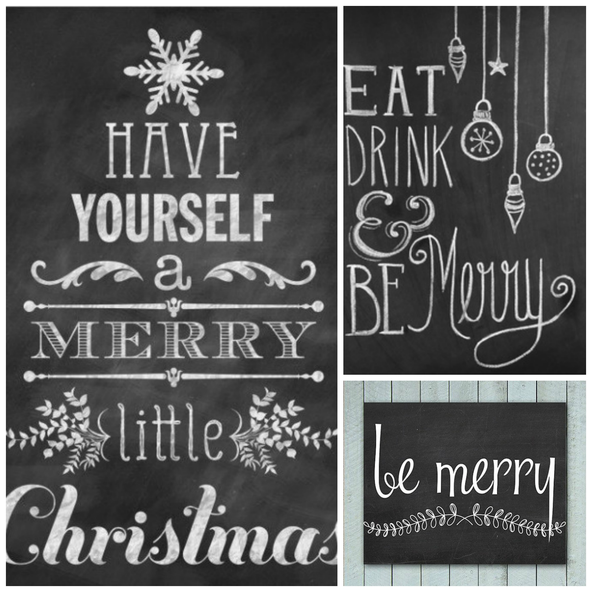Chalkboard Lettering Ideas Kitchen