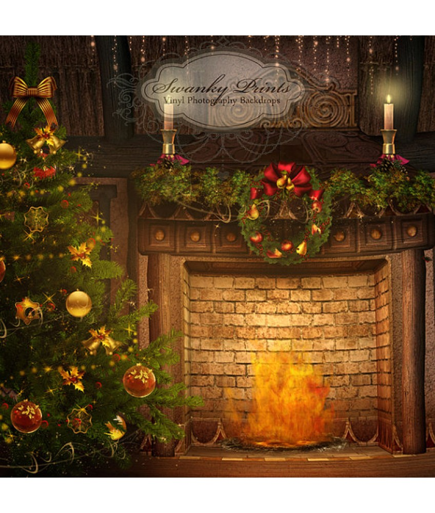 18 Fireplace Photography Backdrop Images