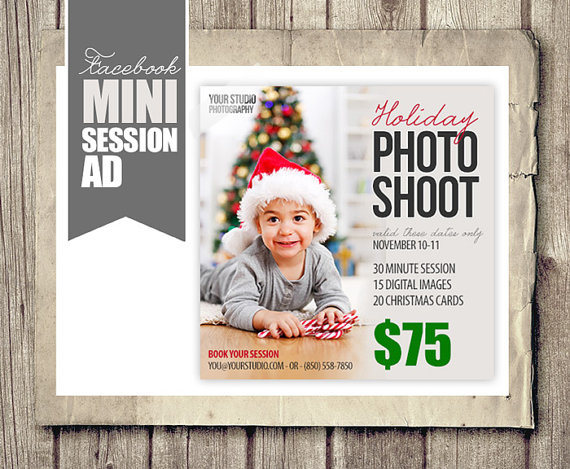 Christmas Photography Ads