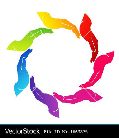 Clip Art Helping Hands Logo