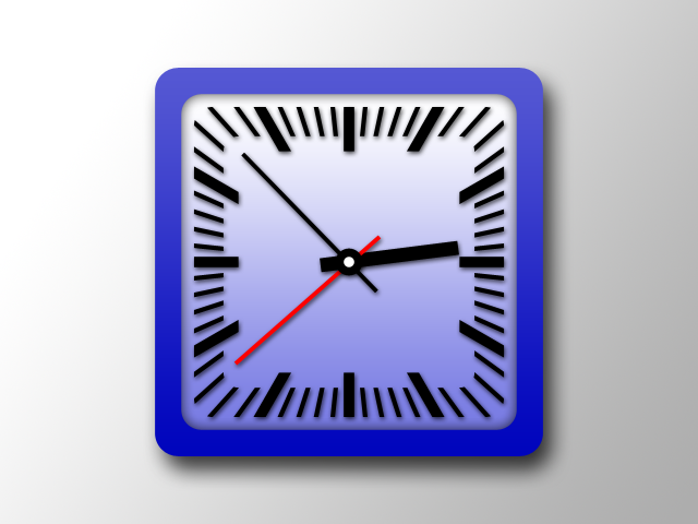 Clock Graphic Photoshop