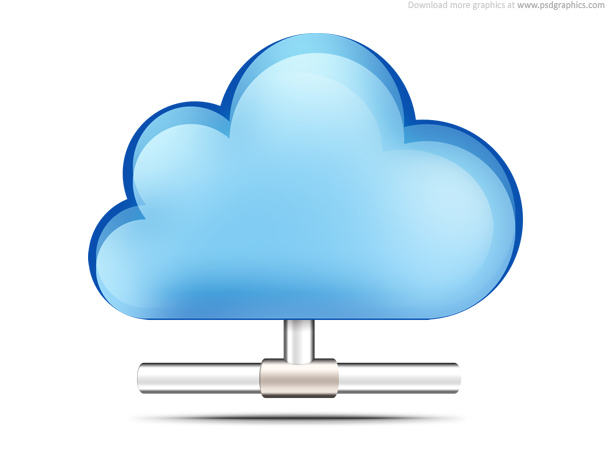 5 Mobile Cloud Computing Icon Images
