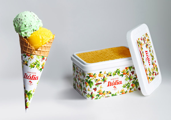 Cool Ice Cream Packaging
