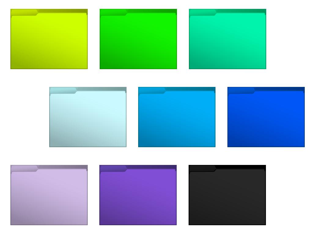 Cool Mac Folder Icons