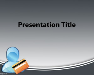 Credit Card PowerPoint Template Free