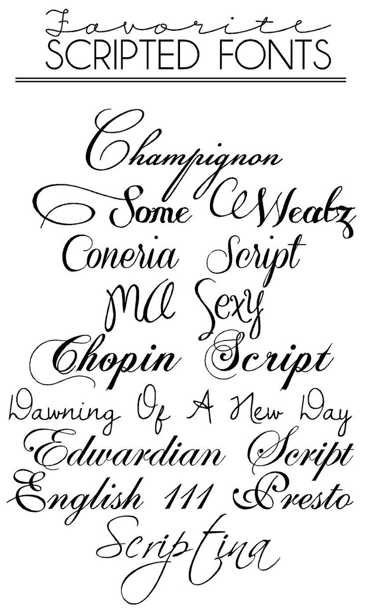 Cursive Tattoo Fonts Handwriting Via Calligraphy Free Download