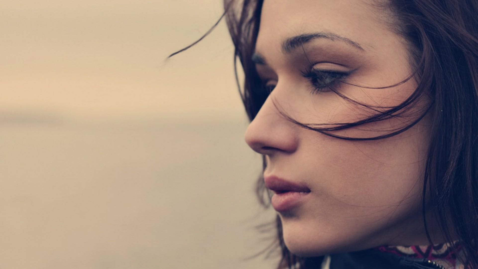 Cute Girl Faces Profile