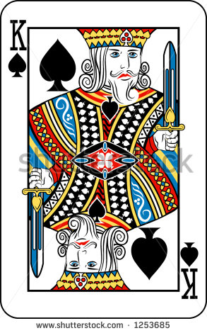 Deck of Playing Cards King