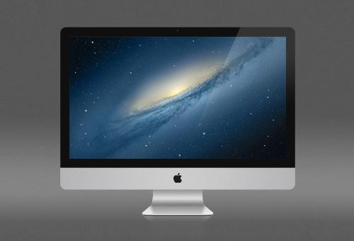 Desktop iMac Mockup
