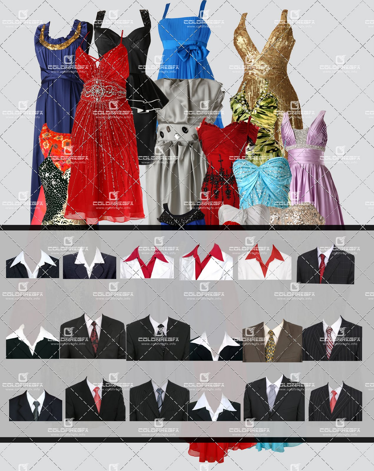 Dress for Photoshop PSD Free Download