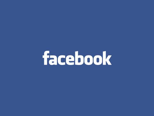 16 White Facebook Logo PSD Images
