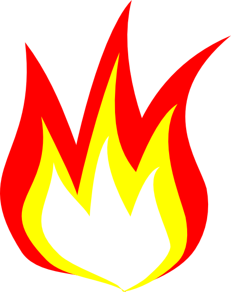 Fire Flames Clip Art Free