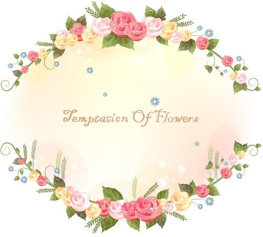Flower Border and Frames Designs