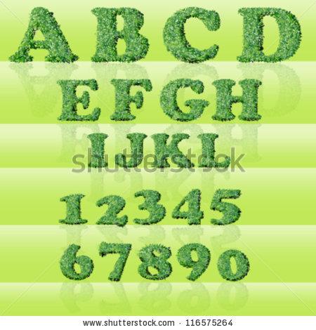 Font Styles Grass