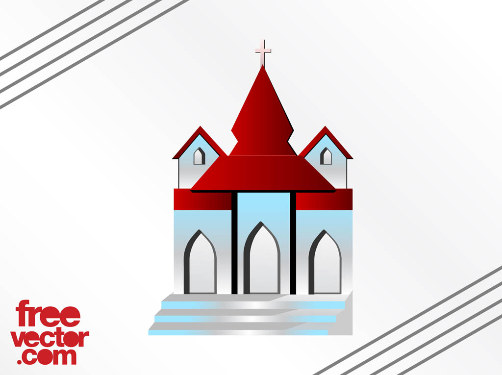 14 Church Building Vector Images