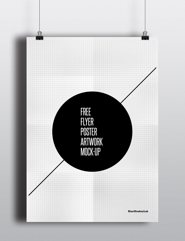 19 Free Poster Mockup PSD Images